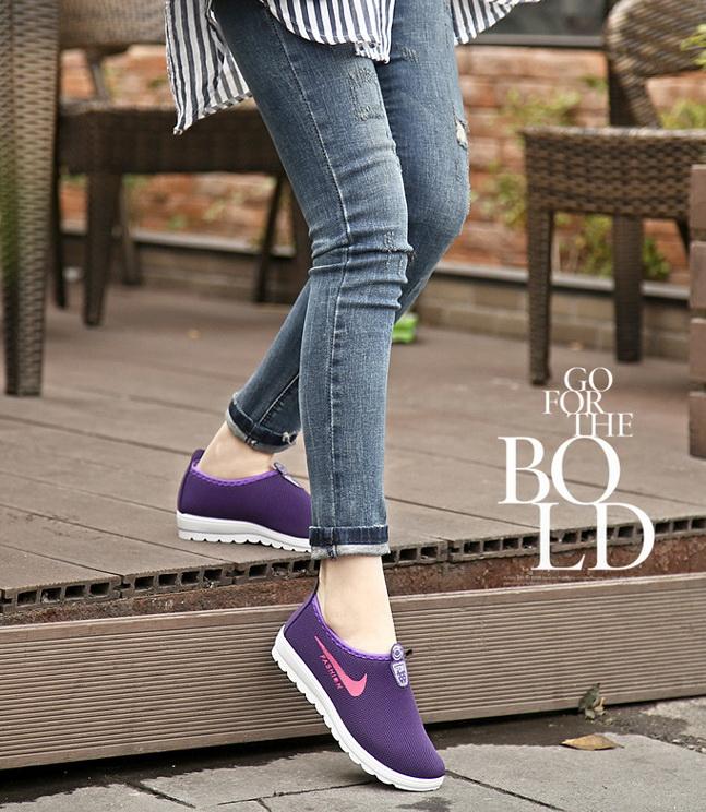 Sepatu Fashion Wanita Murah Warna Ungu - Grosiran Batam