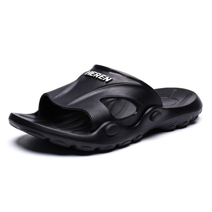 Sandal Slip On Warna Hitam Model Terbaru 2020 Harga Termurah 4