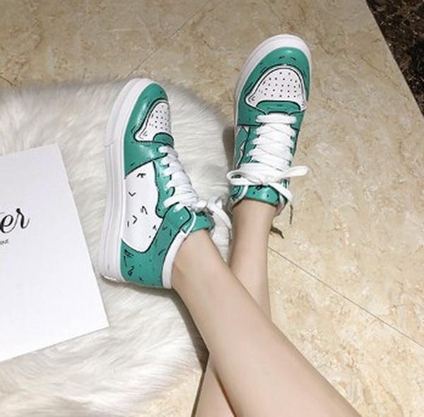 Sepatu Fashion Wanita Warna Hijau Model 2020 Harga ...