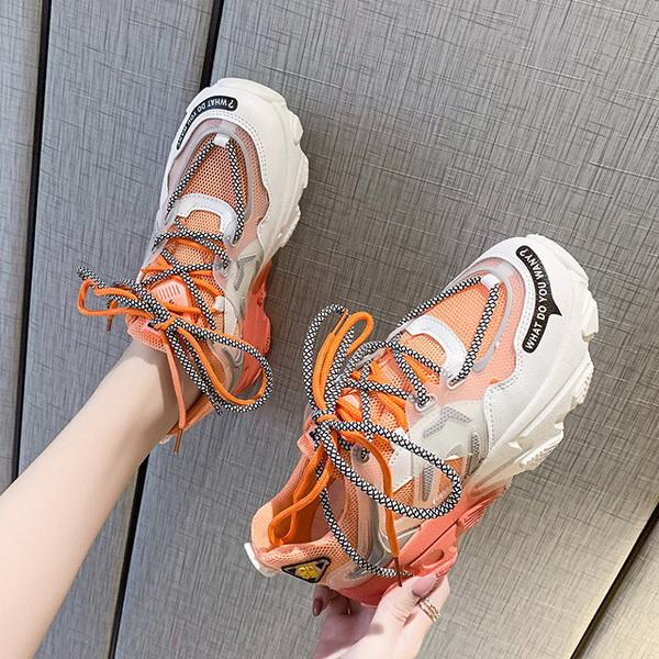 Sepatu Fashion Wanita Sneaker Warna Pink Model Terbaru ...