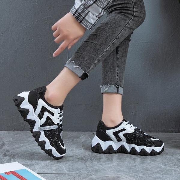Sepatu Fashion Wanita Warna Hitam Model Korea Tahun 2020 ...
