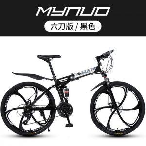 Sepeda Lipat MTB Ukuran 26 Inch 27 Speed Dengan Model Velg Palang 6
